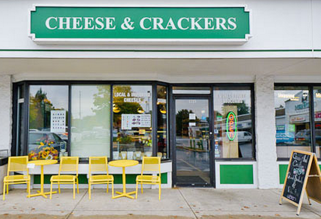 Cheese and Crackers Champaign IL