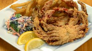 Fresh Softshell Maryland Blue Crabs