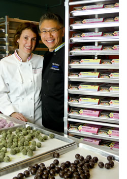 This is who makes the truffles!  Max & Ally