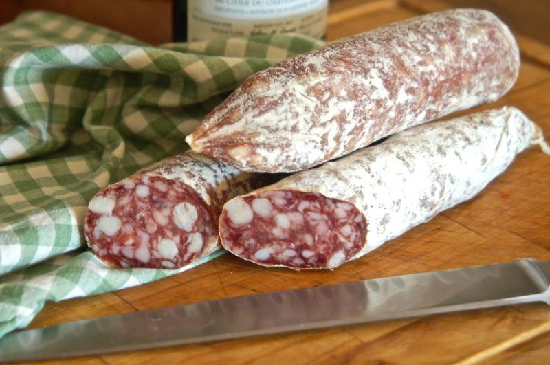Rosette Salami at Cheese and Crackers Champaign Urbana IL